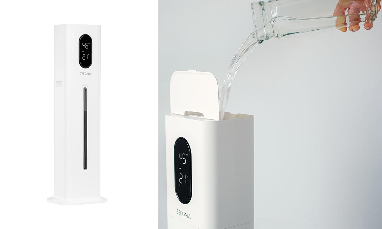 Nawilżacz powietrza ZEEGMA Ultrasoniczny Vers UV White 5902581659774