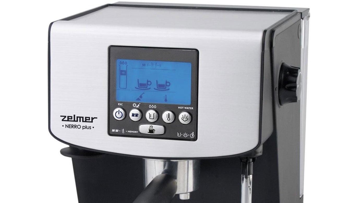 Inne rodzaje Zelmer Nerro Plus ZCM2184X - Ekspresy do kawy - Sklep internetowy TT49