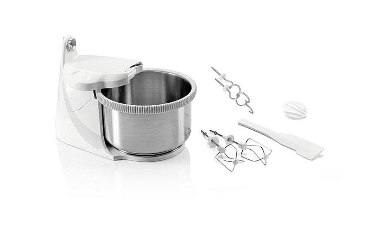 Mikser ręczny Zelmer 481.64MM 400W z metalową misą uniwersalny ergonomiczny bezpieczny