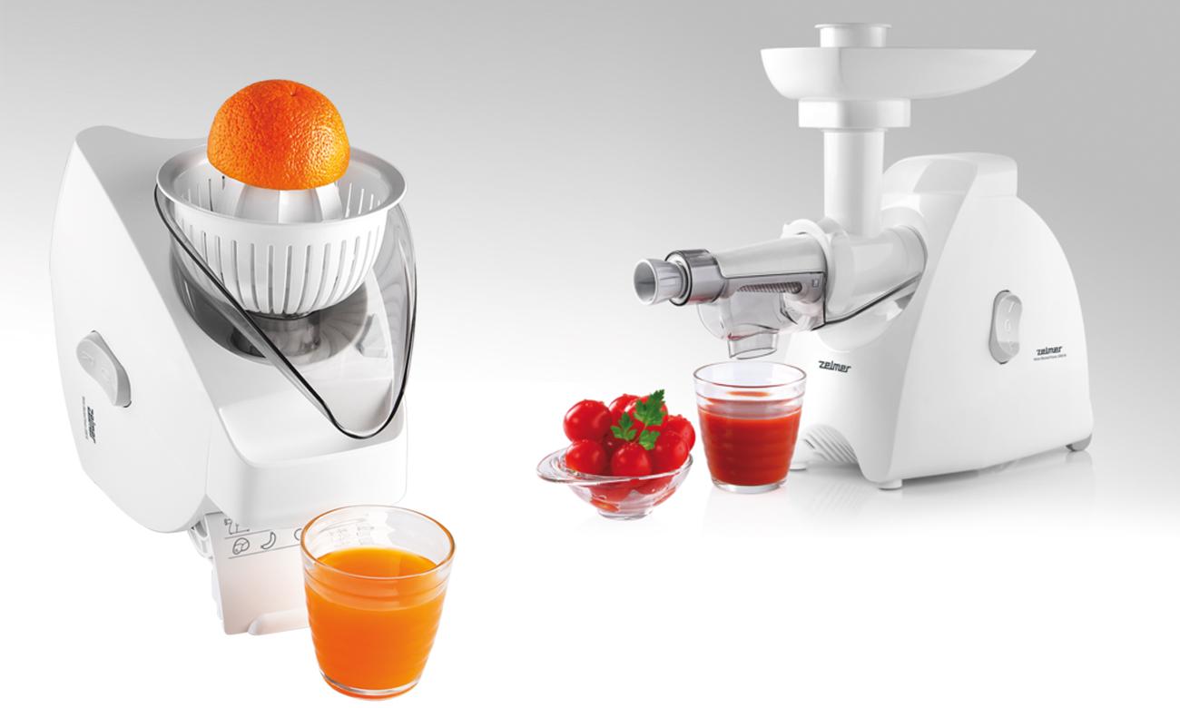 Соковыжималка для цитрусовых и мягких фруктов в Zelmer ZMM5580W