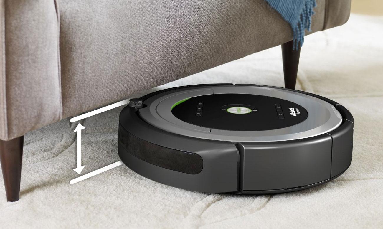 Odkurzacz iRobot Roomba 615 dokładnie sprząta
