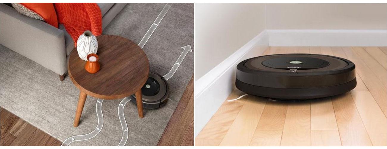 czujniki w iRobot Roomba 896