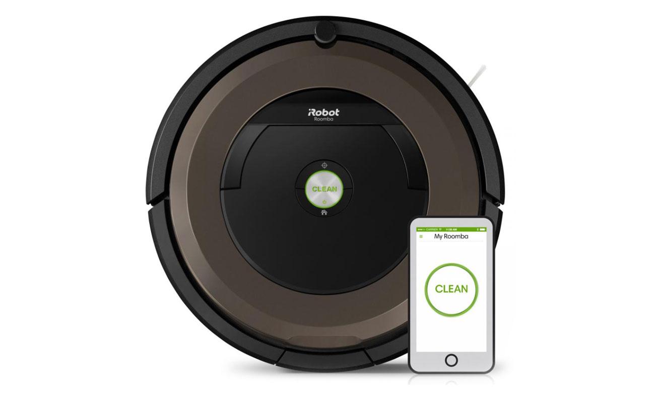 Sterowanie za pomocą smartfona iRobot Roomba 896