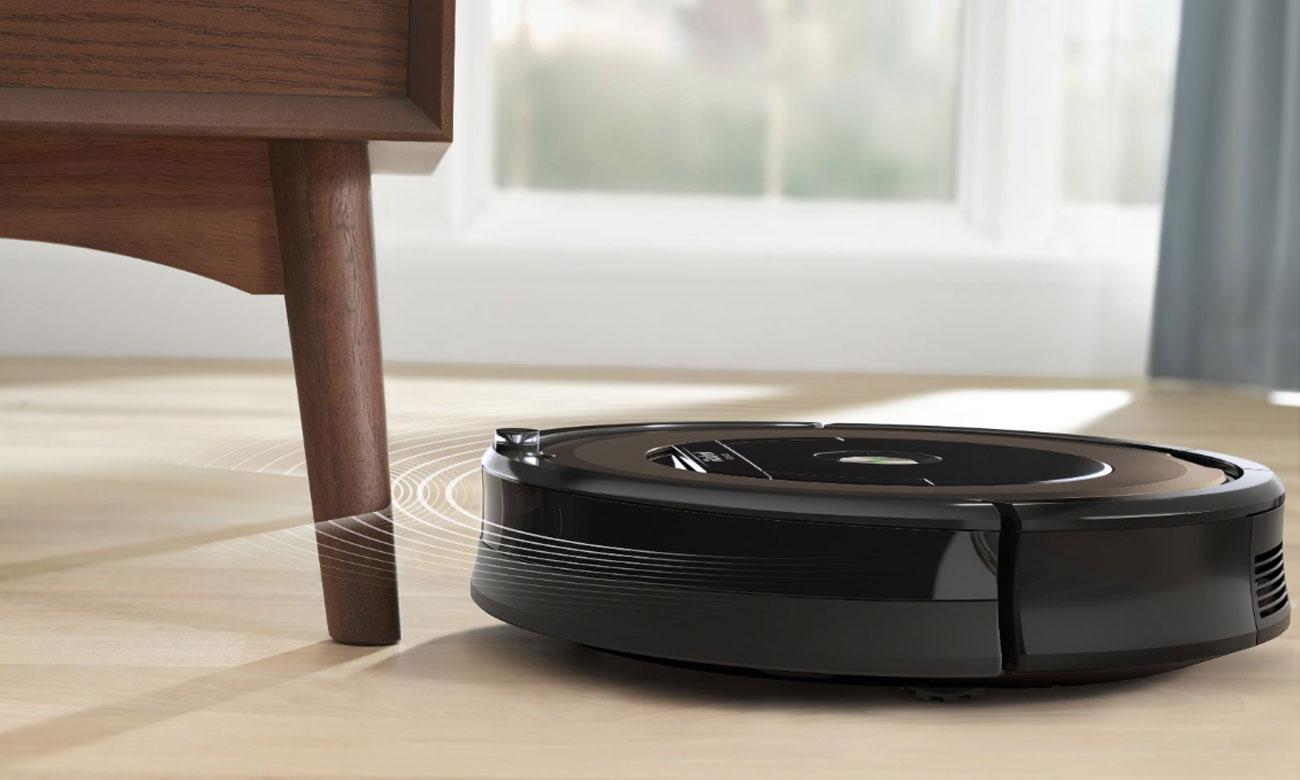 Wirtualna ściana Dual Mode w odkurzaczu iRobot Roomba 896