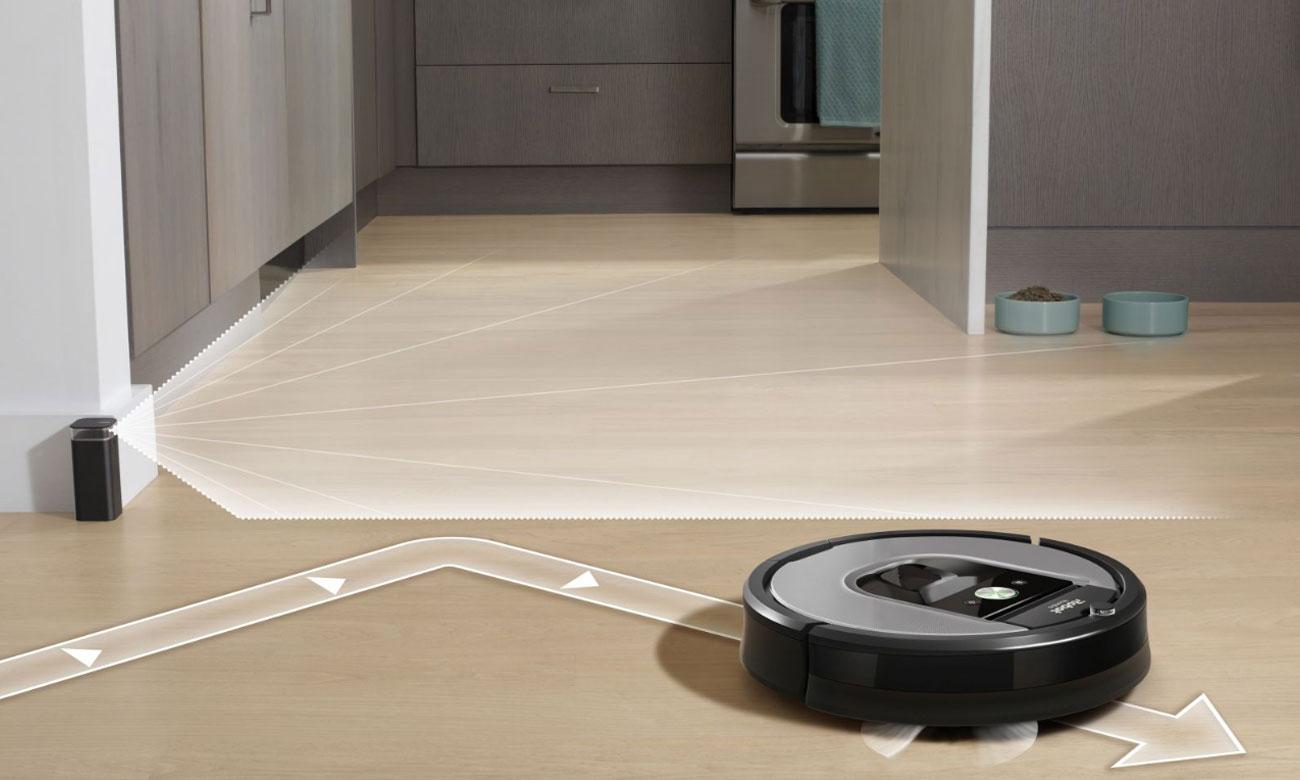 czujniki w iRobot Roomba 960