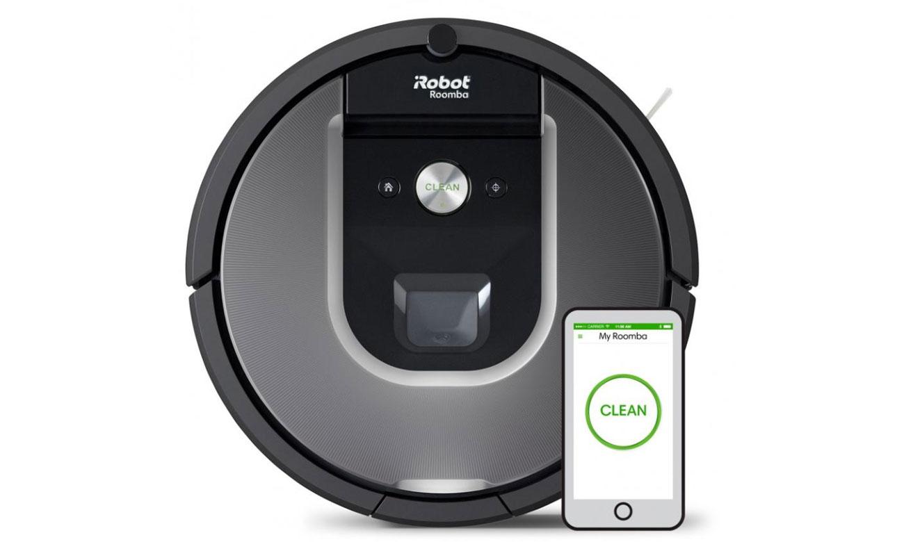 Sterowanie za pomocą smartfona iRobot Roomba 960