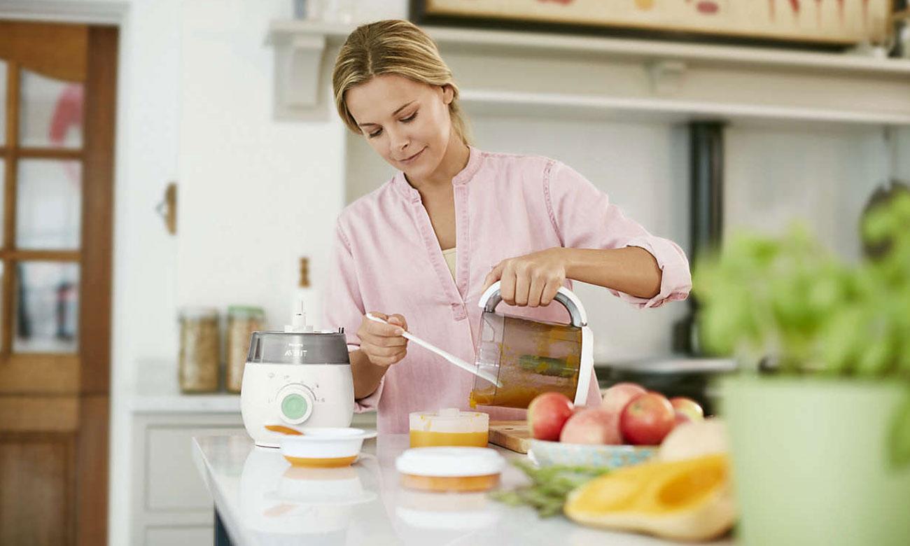 Philips Avent Urządzenie do przygotowywania jedzenia dla dzieci 4 w 1 SCF885/01