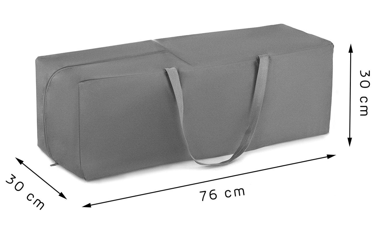 złożone łóżeczko dla dzieci kinderkraft z torbą