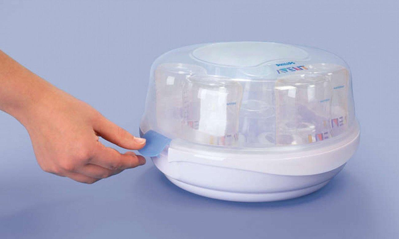 sterylizator parowy do mikrofali jak używać
