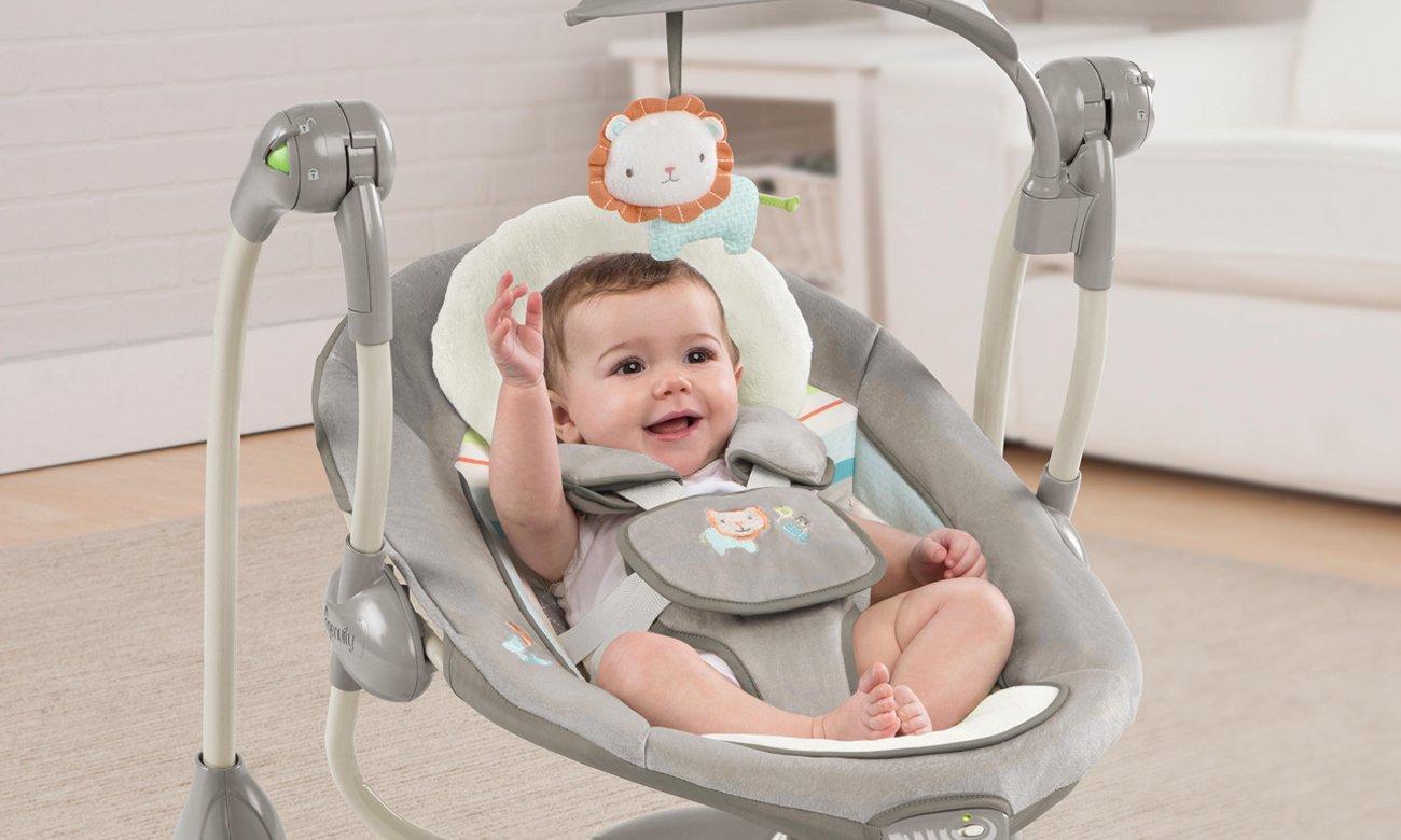 dziecko odpoczywa w bright starts BS 60100