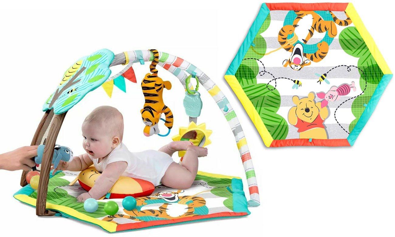 Bright Starts Mata z zabawkami Kubuś Puchatek i Przyjaciele
