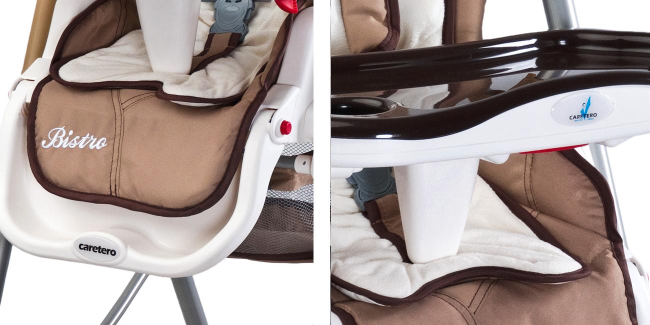 krzesełko do karmienia CARETERO polly progres z tacką