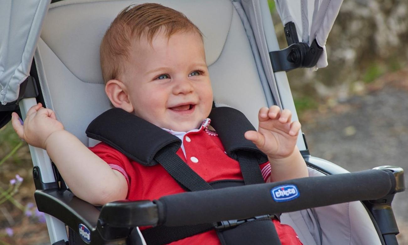 Wózek spacerowy Chicco Ohlala czerwony