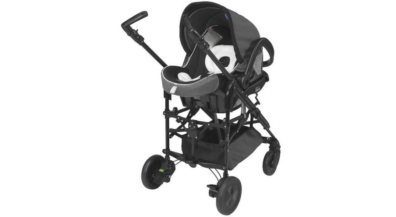 rozkładany daszek wózka Chicco Trio Living Smart Charm