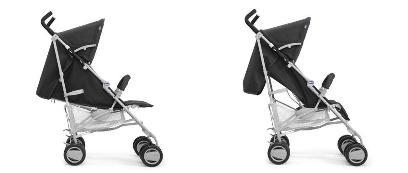 Wózek spacerowy Chicco London z pałąkiem jest funkcjonalny i zapewnia bezpieczeństwo