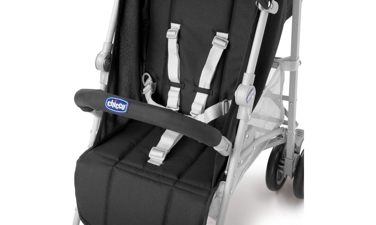 Wózek spacerowy Chicco London z pałąkiem zapewni komfort dziecku