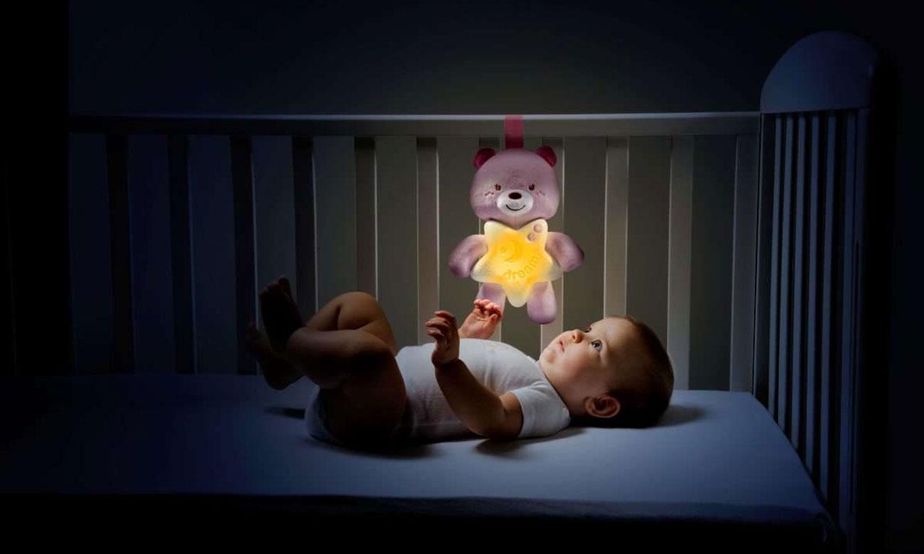 Chicco maskotka lampka nocna z dźwiękami