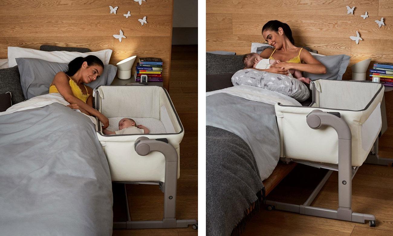 Chicco łóżeczko dostawne dla niemowląt Next2me Magic