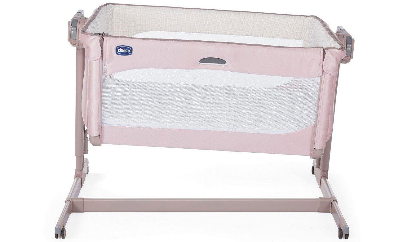 Wygodne łóżeczko dla niemowląt Next2me Magic Chicco