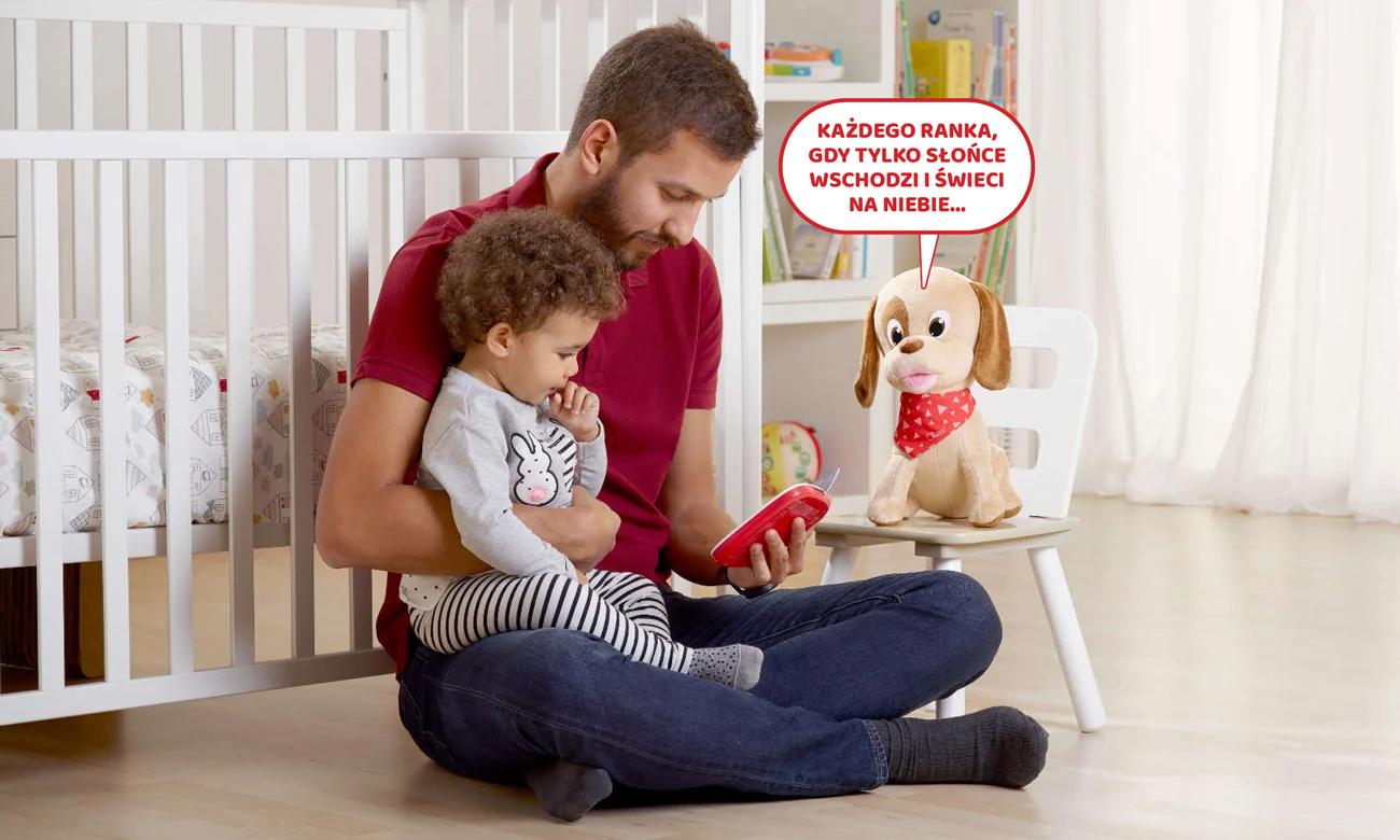 zabawka interaktywna dla dzieci piesek