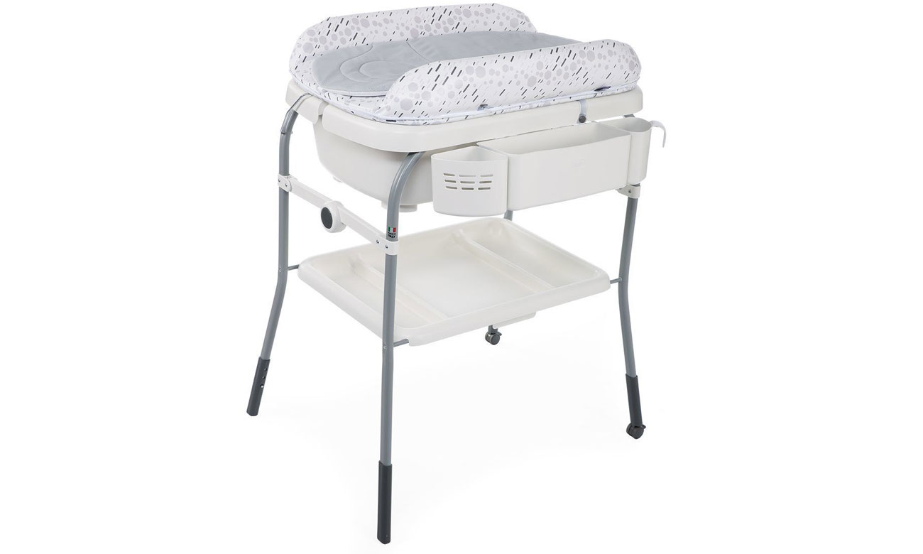 Chicco Cuddle & Bubble Comfort Cool Grey