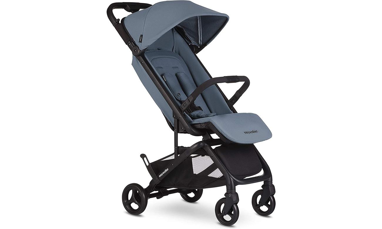 Kompaktowy wózek spacerowy z torbą transportową Easywalker Miley Ocean Blue