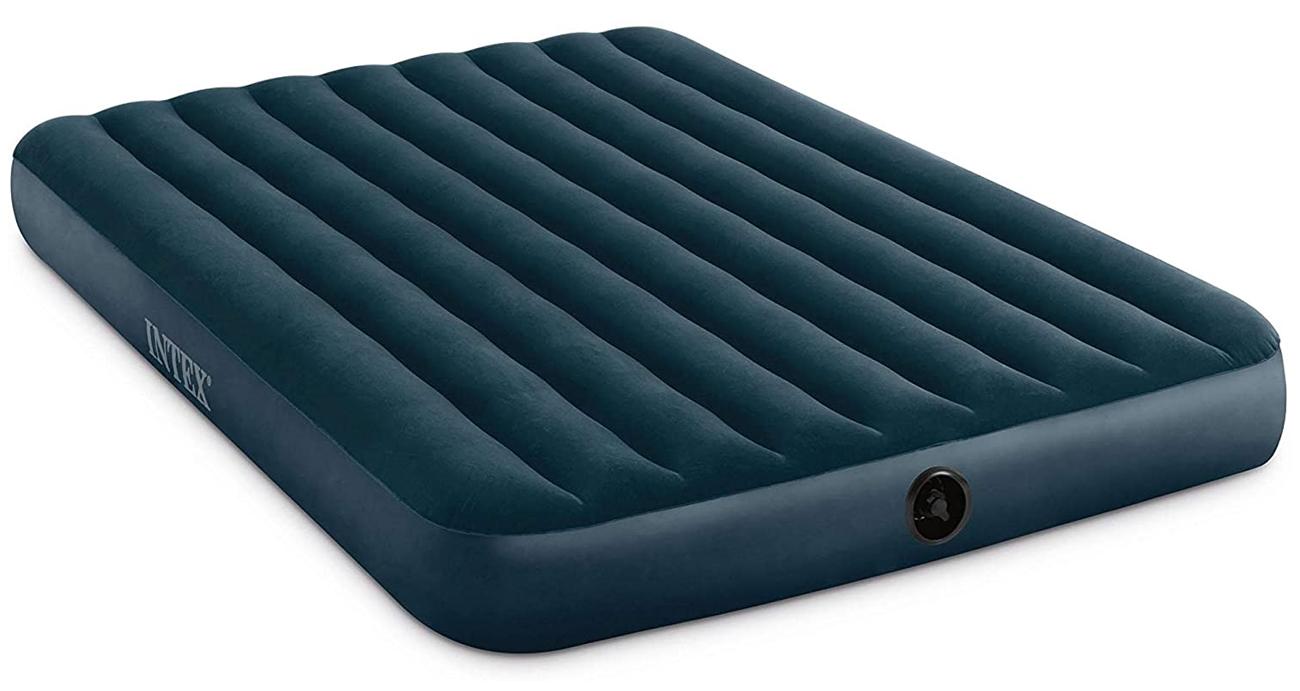 INTEX Dmuchane łóżko Dura-Beam Standard Downy Queen