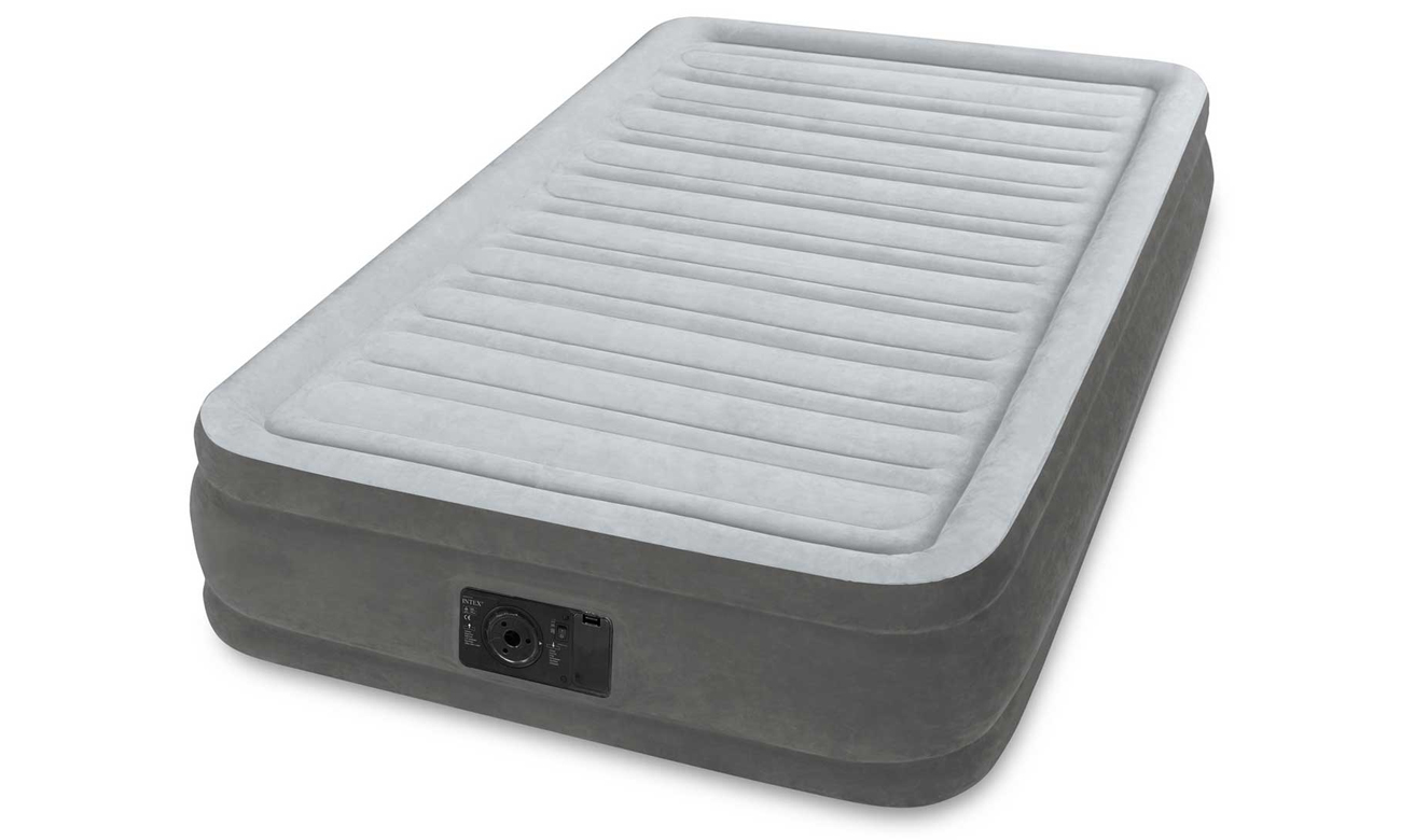 INTEX Dmuchane łóżko Dura-Beam Deluxe Twin