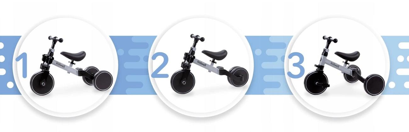 rowerek dla dziecka 3 w 1 kidwell