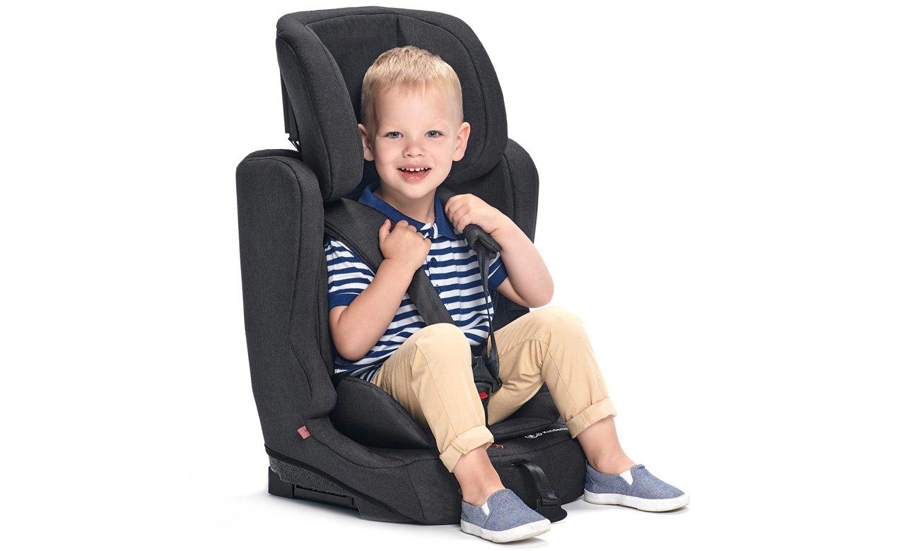Regulacja fotelika KinderKraft Fix2Go Isofix Black