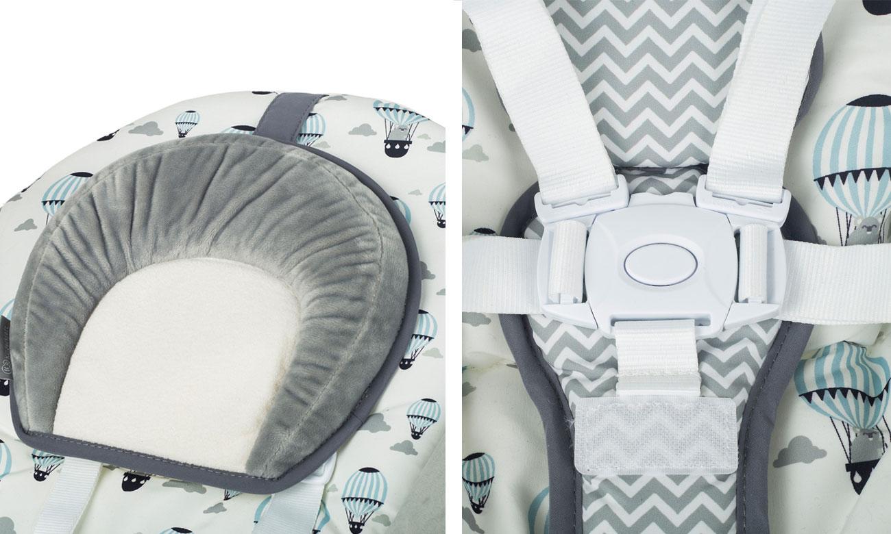 Huśtawka dla niemowląt KinderKraft Flo Mint