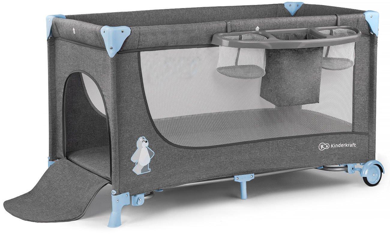 Łóżeczko turystyczne KinderKraft Joy z akcesoriami