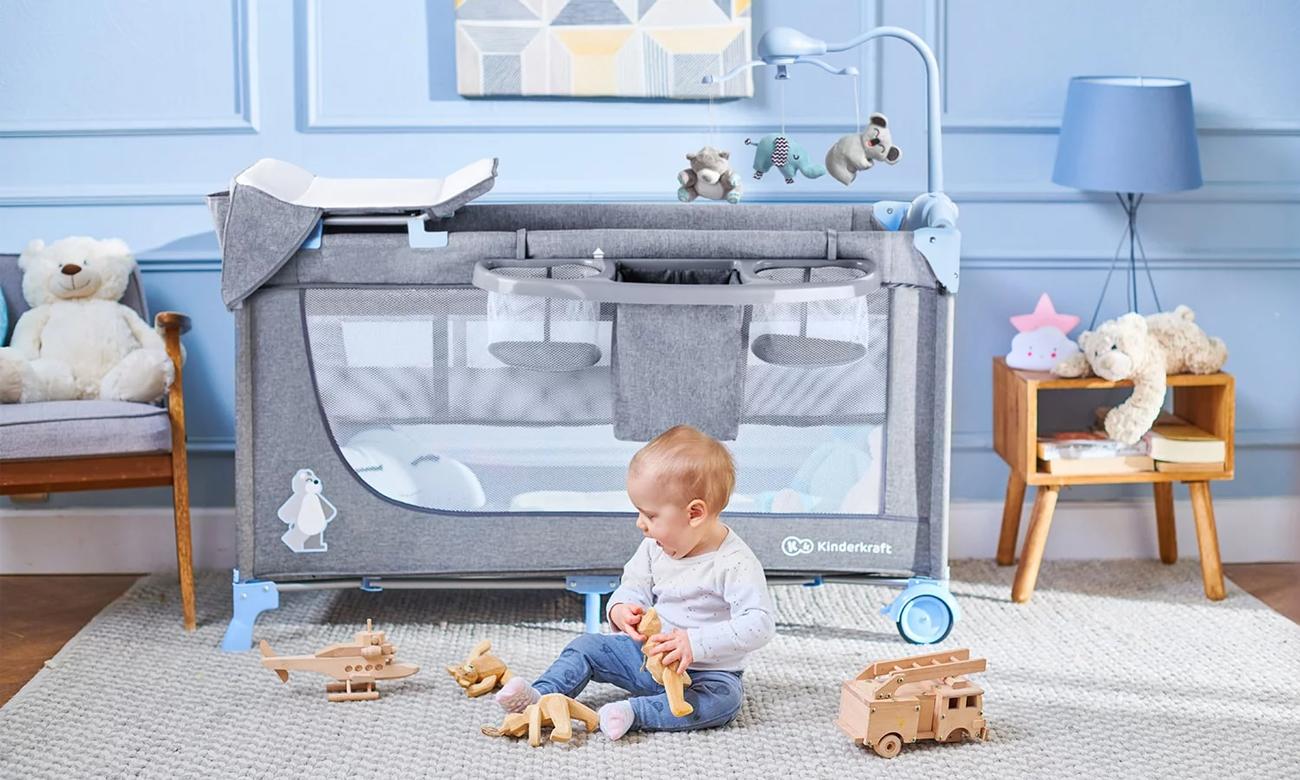 Kojec KinderKraft Joy z akcesoriami