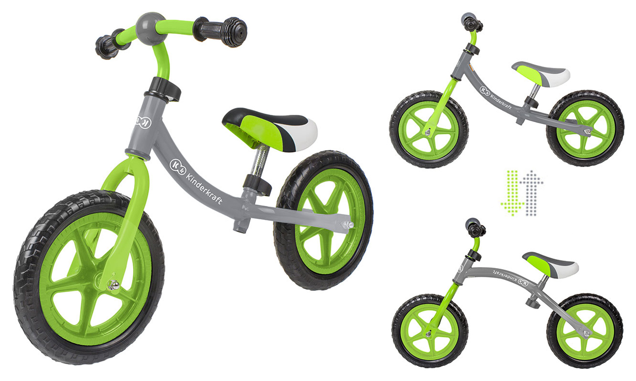 Rowerek biegowy kinderkraft 2way