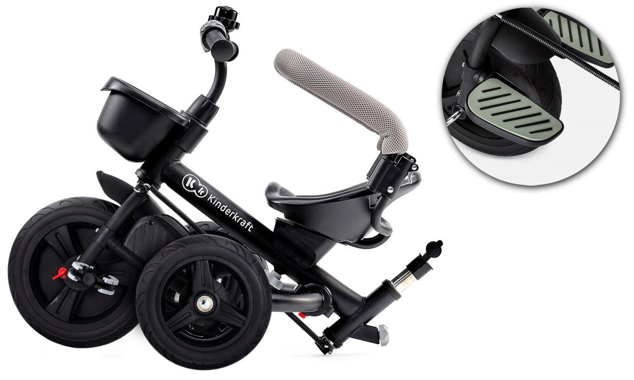 Trójkołowy rowerek AVEO z akcesoriami