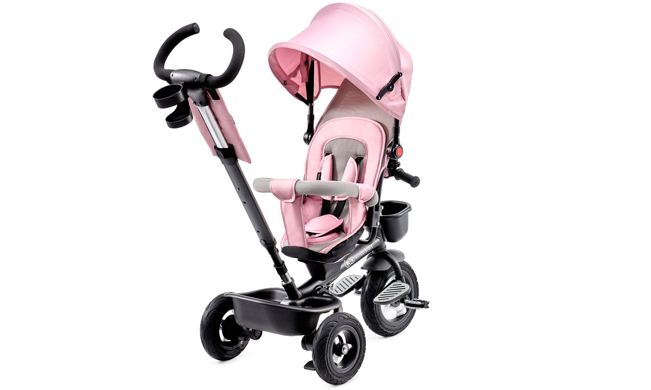 Rowerek Trójkołowy Aveo pink różowy