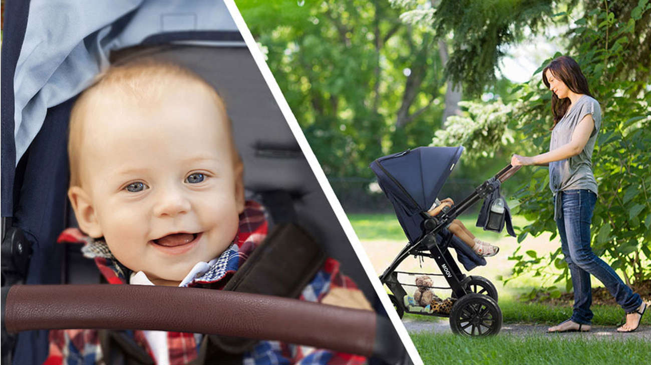 wózek z gondolą i spacerówka KinderKraft MOOV