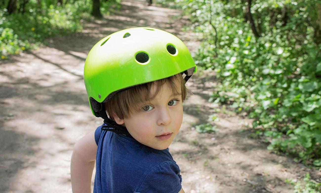 Kask ochronny dla dzieci SAFETY - zielony