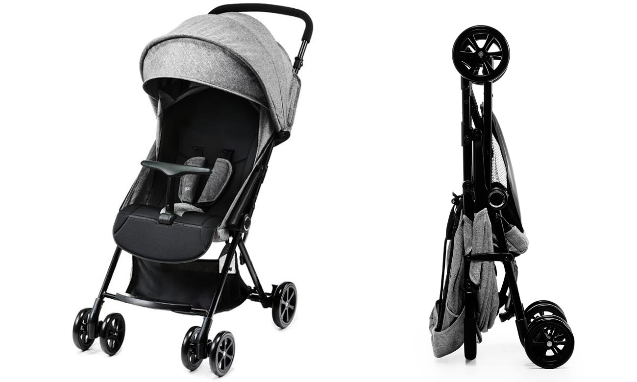 Wózek spacerowy KinderKraft Lite Up Grey szary 5902533911042