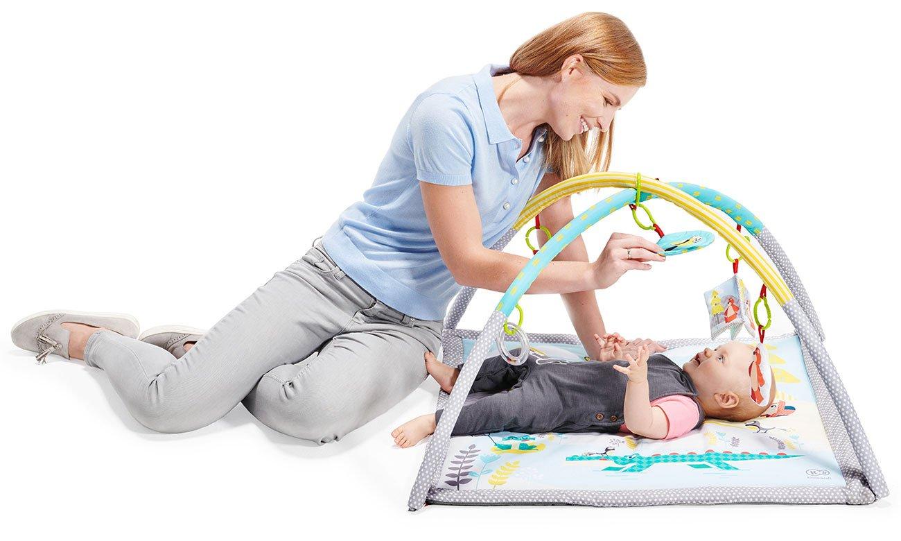 Wygodna mata edukacyjna dla niemowlaka KinderKraft Mily