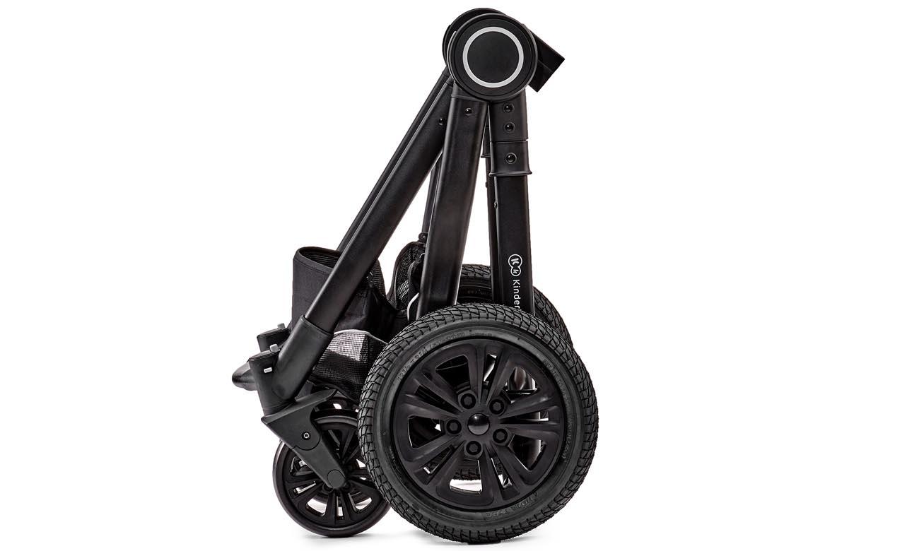 Wózek wielofunkcyjny 2w1 Kinderkraft VEO Black
