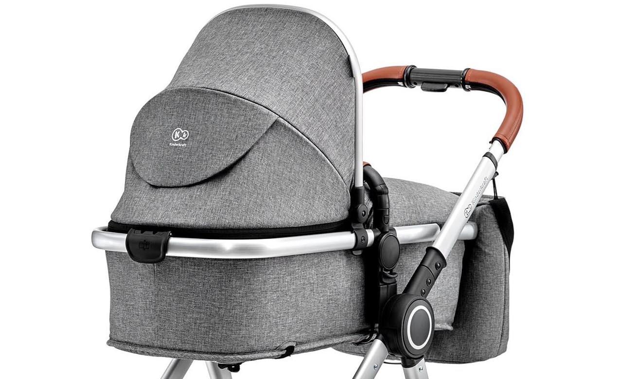 Wózek wielofunkcyjny 2w1 Kinderkraft VEO Grey