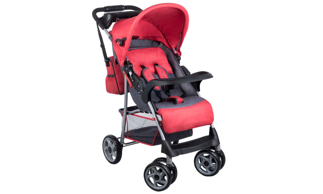 Wózek spacerowy Lionelo emma plus Red/Gray