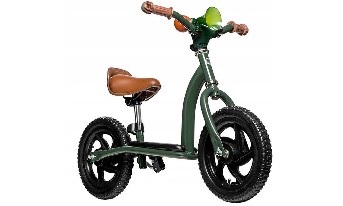 Rowerek biegowy Lionelo Roy zielony 5902581656315