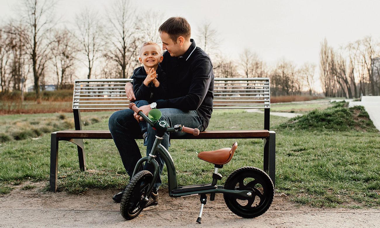 Hulajnoga i rowerek biegowy dla dziecka Lionelo Roy