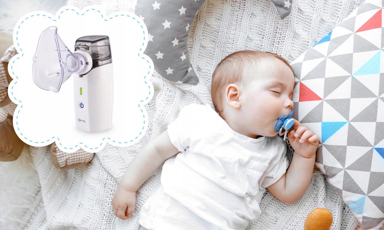nebulizator inhalator lionelo