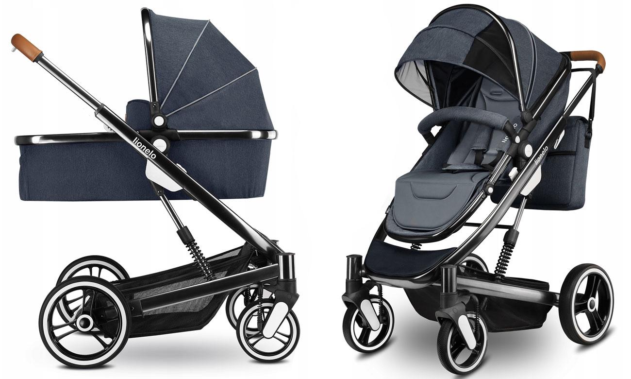 Wózek wielofunkcyjny Lionelo Mari 2w1 Graphite 5902581657367