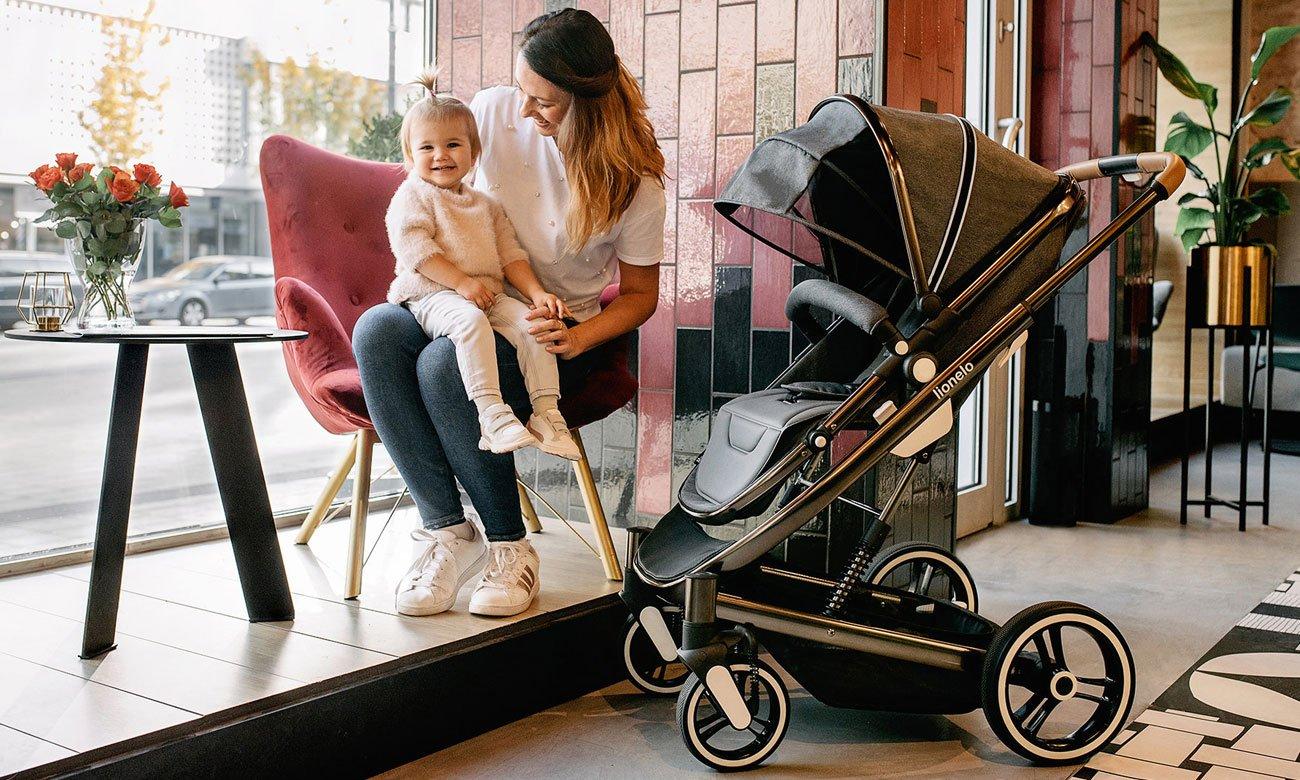wózek wielofynkcyjny Lionelo Mari 2w1