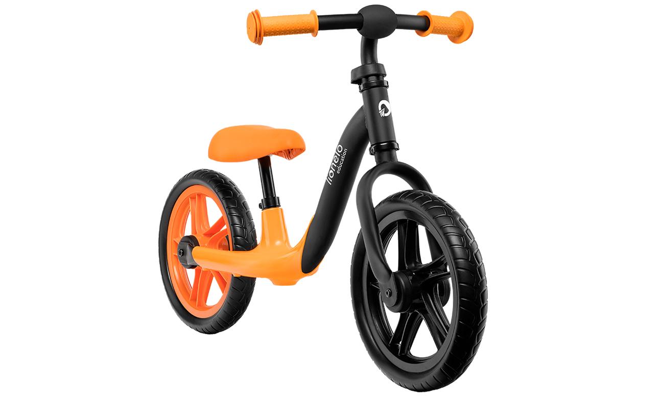 Rowerek biegowy Lionelo Alex wyposażony w antypoślizgowe rączki