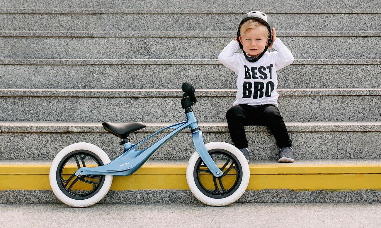 Rowerek biegowy Lionelo Bart z kołami z pianki EVA
